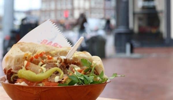 Amsterdam's Best Broodje Doner - Hasan's