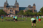 play football in amsterdam-featured