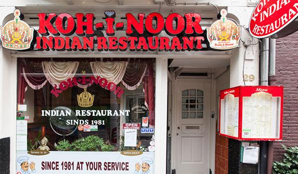 Indian Restaurants in Amsterdam-koh-i-noor