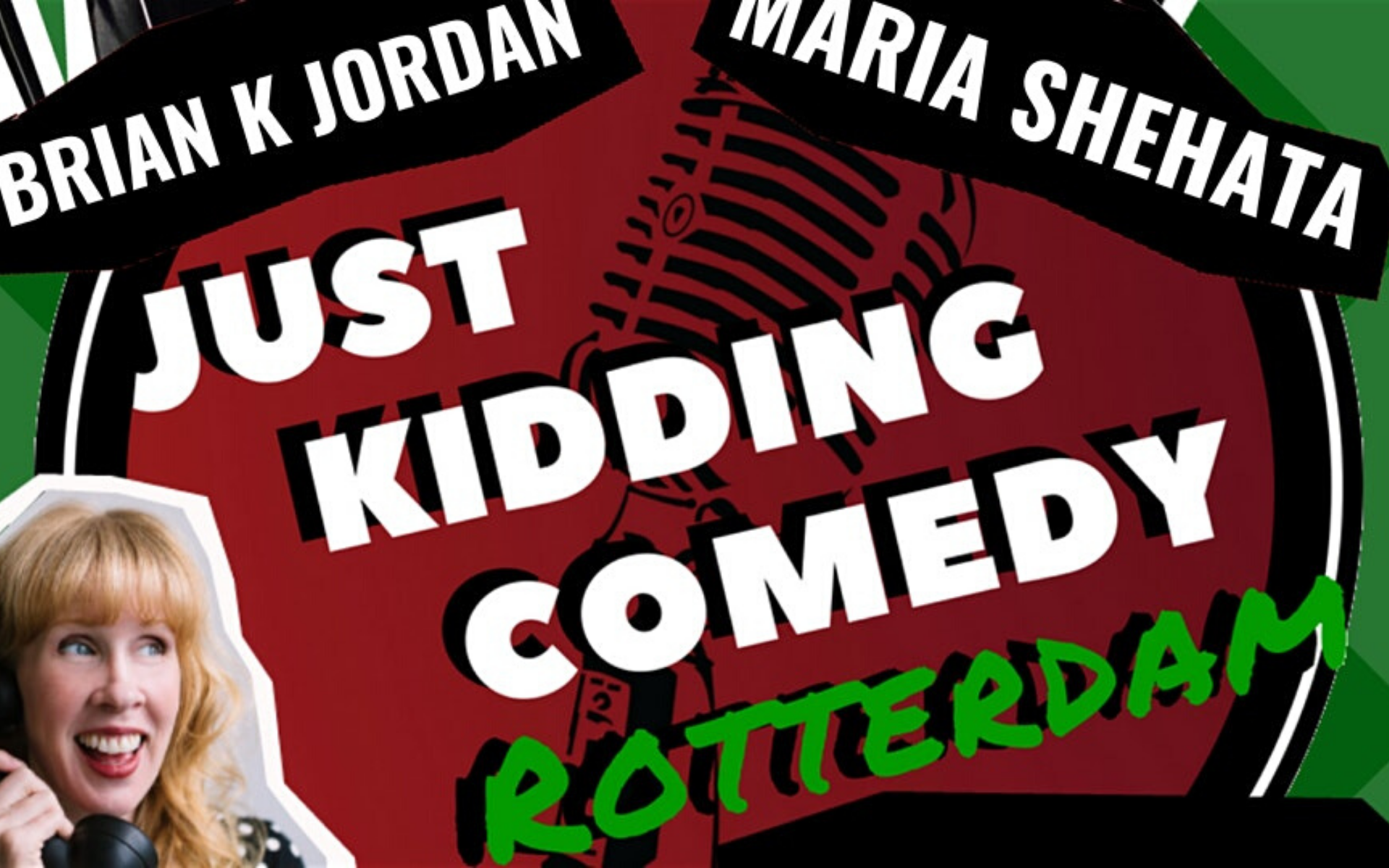 Just Kidding Rotterdam English Comedy-Feb 15 2020