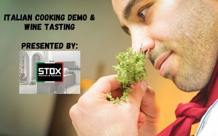Italian Cooking Demo and Wine Tasting-featured