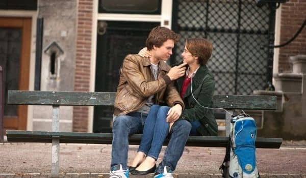 Film Lovers in the Netherlands-Fault in our Stars bench