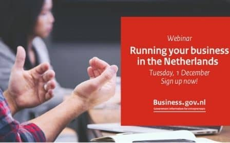 Running Your Own Business in the Netherlands-Webinar