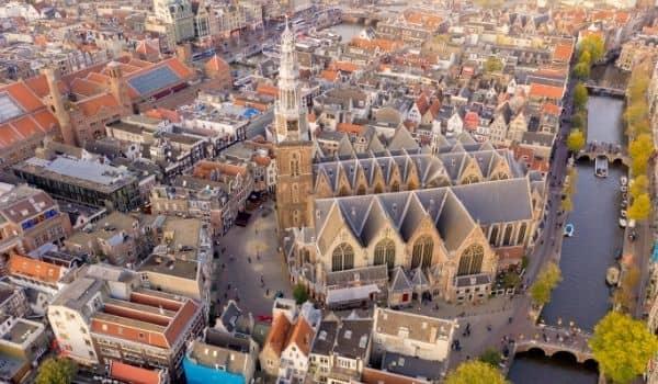 drone trip through Amstderdam