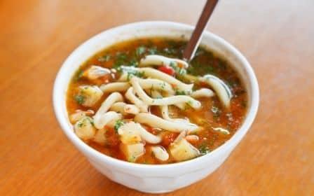 Uyghur Hand-Pulled Noodle- Lagman