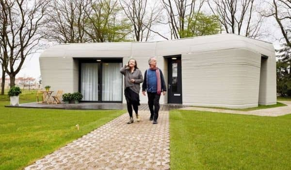 3D printed house in the netherlands