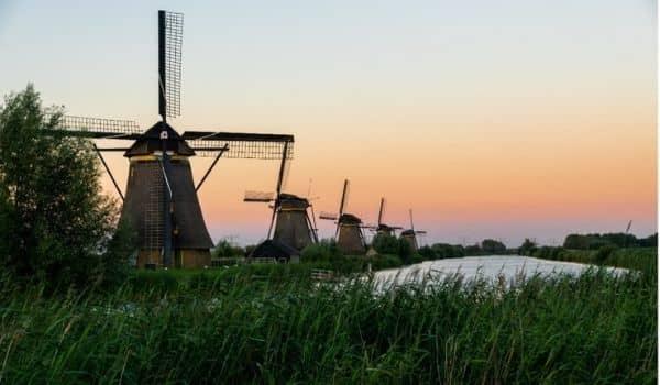 Beautiful Bike Routes in the Netherlands Kinderdijk